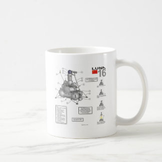 Luna 16 Illustration Coffee Mug