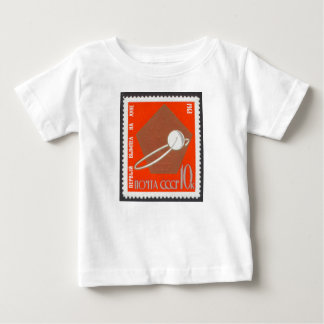 Luna 1 Moon Probe Launched 1959 Baby T-Shirt