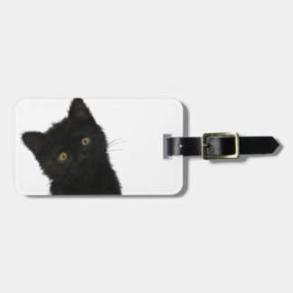 Luna Bella Black Kitten Luggage Tag