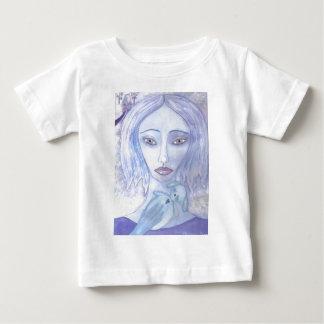 luna blue 001.jpg baby T-Shirt