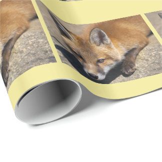 Luna Fox Wrapping Paper