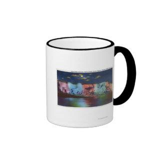 Luna Island Night View of New Rainbow Bridge Mug