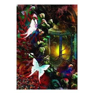 "Luna Lantern 5"" X 7"" Invitation Card"