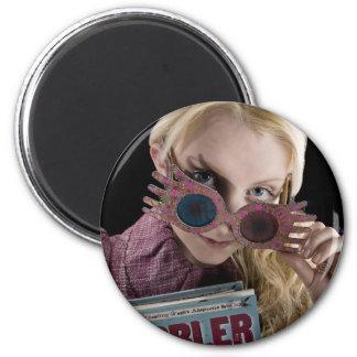 Luna Lovegood Peeks Over Glasses Magnet