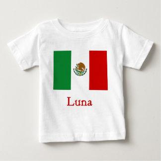 Luna Mexican Flag Baby T-Shirt