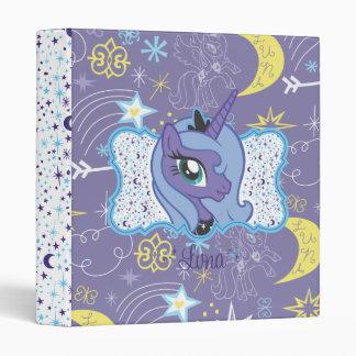 Luna Moon and Stars Vinyl Binders