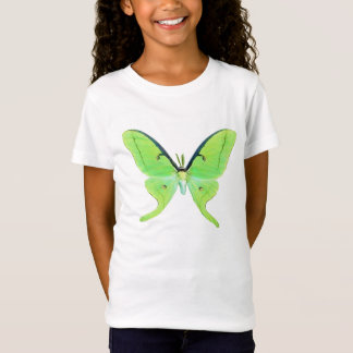 Luna moth on a pale green background T-Shirt