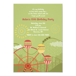Luna Park Invitation