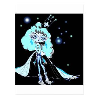 Luna Queen Postcard