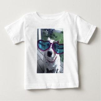 "Luna Says ""Bad Hair Day? Get bigger glasses"" Baby T-Shirt"