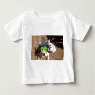 Luna says, dog, dogs, funny, witch, Halloween Baby T-Shirt