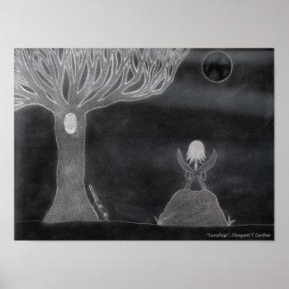 """""""LunaFaye"""", Margaret V Gardner Poster"""