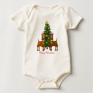 Lunar and Willow Organic Baby Bodysuit