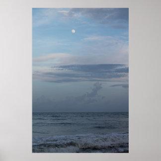 Lunar Beach Extra Small 16 50 x 11 00 Poster