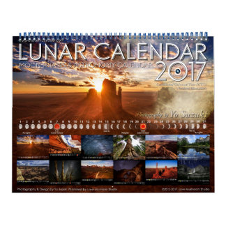 Lunar Calendar 2017 Moon Phases Astronomy Calendar
