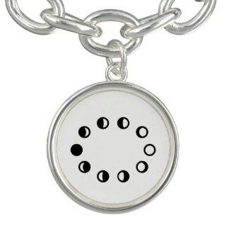 Lunar Cycle Necklace Charm Bracelets