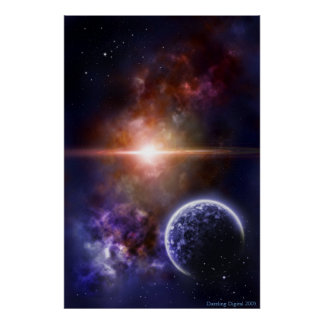 Lunar day poster