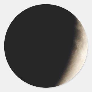 Lunar Eclipse (10) 12:55am April 15, 2014 Party Classic Round Sticker