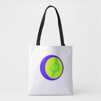 Lunar Eclipse Goddess Tote Bag