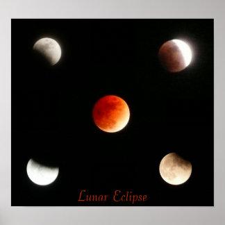 Lunar Eclipse Poster