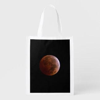Lunar Eclipse Reusable Bag Grocery Bags