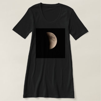 Lunar Eclipse with Craters T Shirts