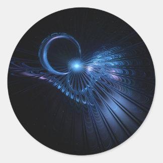 Lunar Flight ~ Fractal Sticker
