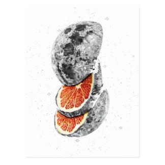 Lunar Fruit Postcard