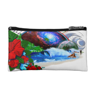Lunar Hawaii Cosmetic Bags