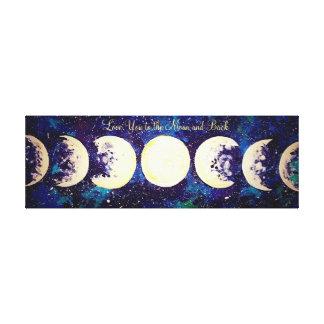 Lunar Lantern Canvas Print
