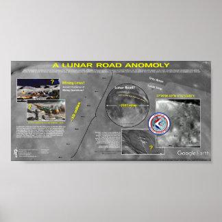 Lunar Road Anomoly Poster