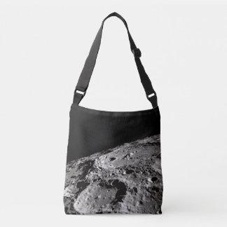 lunar surface crossbody bag