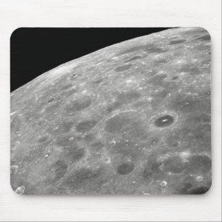 lunar surface mouse pad
