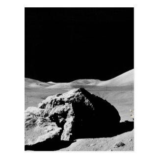 Lunar surfaces postcard