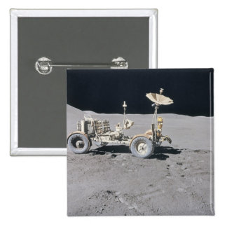 Lunar Vehicle 2 Inch Square Button