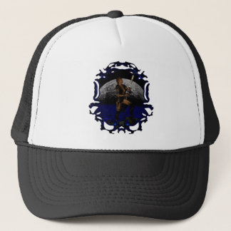 Lunar Warrior Trucker Hat