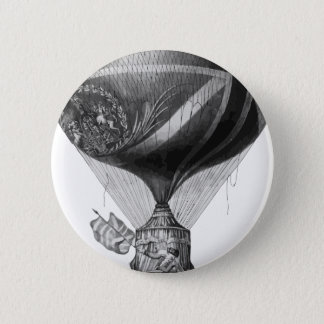 Lunardi's_New_Balloon_as_it_ascended_with_Himself_ 2 Inch Round Button