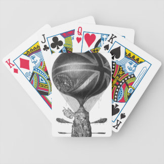 Lunardi's_New_Balloon_as_it_ascended_with_Himself_ Bicycle Playing Cards