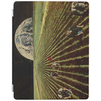Lunarscape Collage iPad Cover