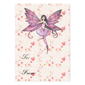 Luna's Dance Fairy Gift Tags Pack Of Chubby Business Cards