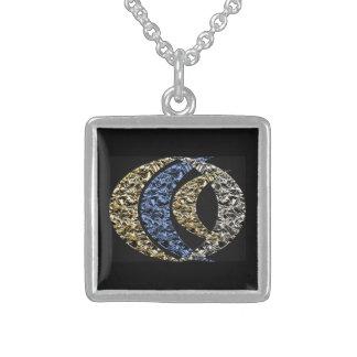 Lunation Sterling Silver Necklace