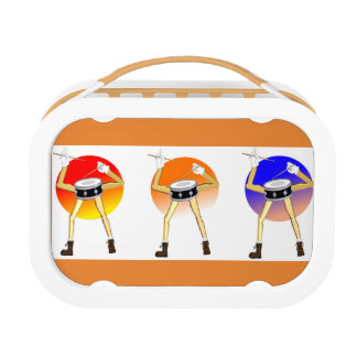 Lunch box for drummers.
