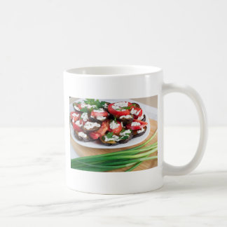 Lunch for a vegetarian coffee mug