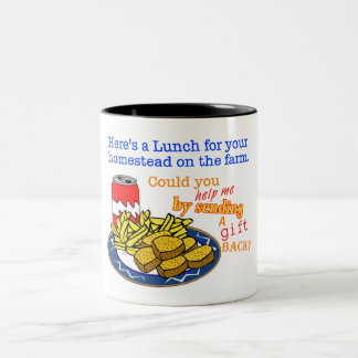 """Lunch for Your Homestead"" Game Mug"