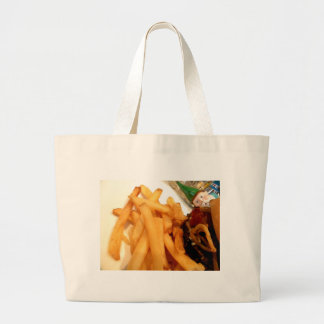 Lunch Gnome Large Tote Bag