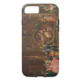 Lunch in the Country (oil on canvas) iPhone 7 Case