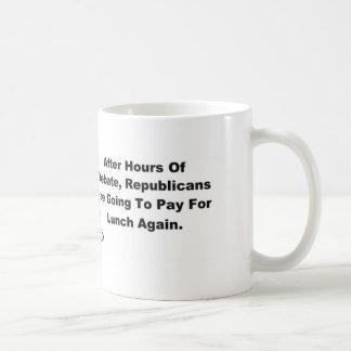 Lunch Is On Us. Coffee Mug