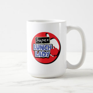 Lunch Lady - Super Classic White Coffee Mug