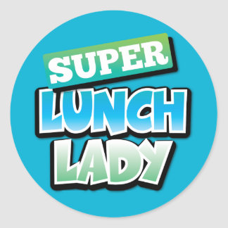 Lunch Lady - Super Lunch Lady Classic Round Sticker