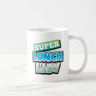 Lunch Lady - Super Lunch Lady Classic White Coffee Mug